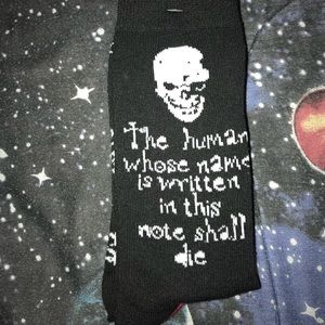 Accessories - Death Note socks